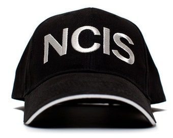 5fa2cb497d520 NCIS Hat Naval Criminal Investigative Service Movie Cap One Size Black