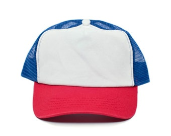 47a73052638 Stranger Things Movie Cap Hat Red/White Cotton Royal mesh unisex-adult  Snapback