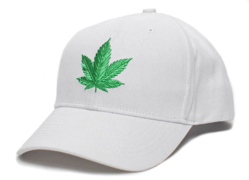 The Chronic Bud Marijuana Leaf Pot Blunt 420 Weed Hat Cap  7ce2ac83b715