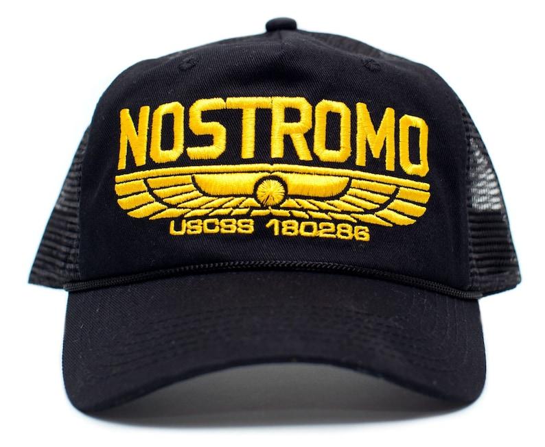dbf59056f05f2 NOSTROMO WEYLAND Yutani Company Unisex Cloth   Braid Cap Hat