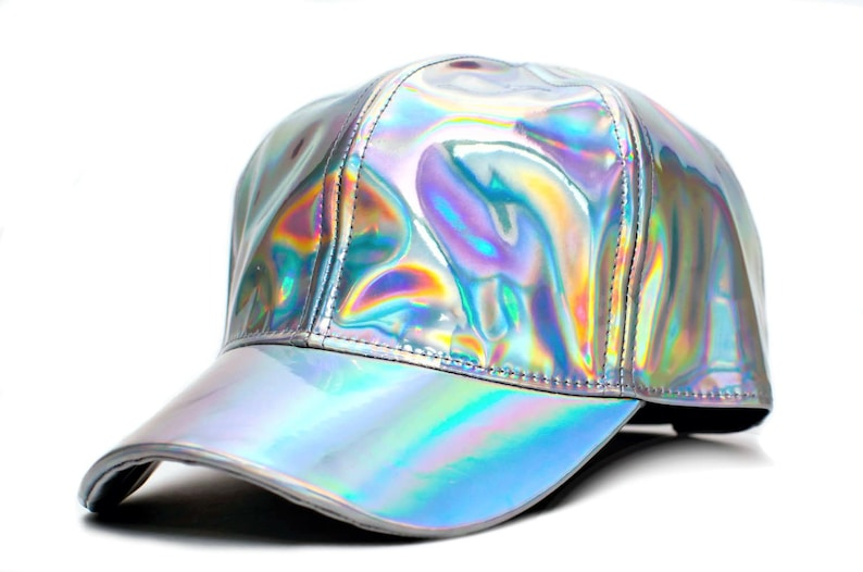 Marty McFly Hat Back To The Future Curved Bill Rainbow Cap  42bd0ce947f1