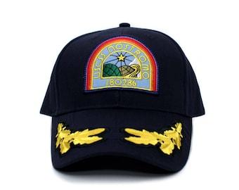 Alien Nostromo USCSS Movie Hat Appliqué patch Cap Navy