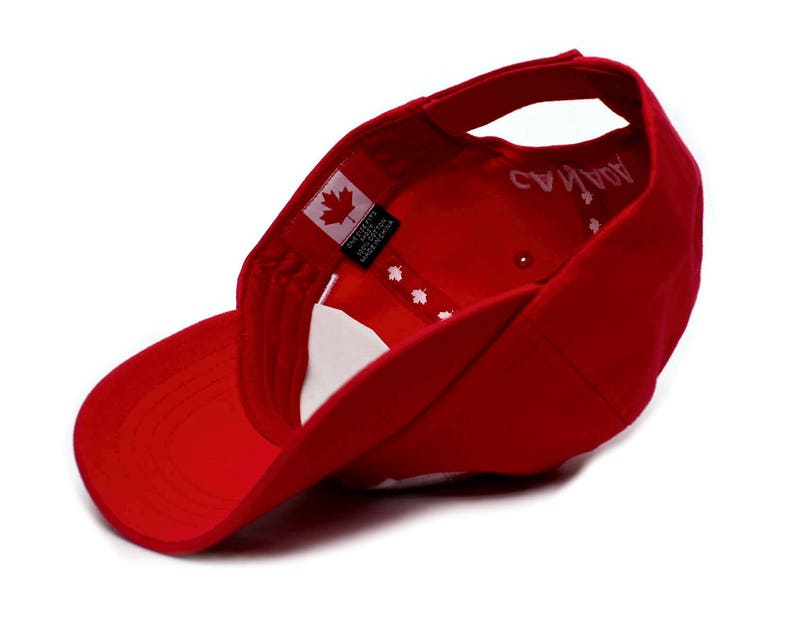 29114bf4d7606b Canada Canadian Flag Embroidered Dad Hat One-Size Unisex Adult