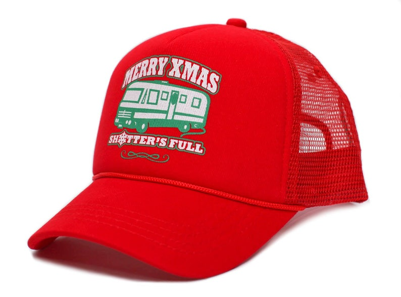 f939715f000 Merry Christmas Xmas Shitter s Full Funny Truckers Hat Cap