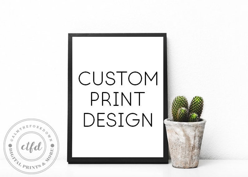 Custom Quotes Personalized Quote Custom Wall Art Custom Poster Personalized Wall Art Custom Quote Print Custom Printable