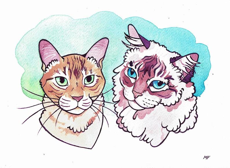 Custom Pet Portrait image 0