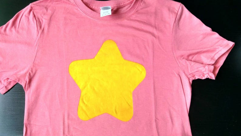 Red Shirt with Yellow Star based on Steven Universe image 0