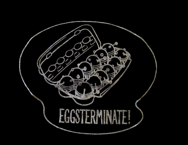 EGGSTERMINATE Daleks from Doctor Who shirt image 0