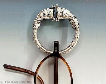 Tara Brooch BRASS, Celtic jewelry, eyeglass holder, Glasses chain, Irish jewelry, Irish pin, Viking jewelry, reading glasses, Celtic replica