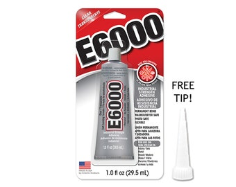 Painting Supplies E6000 Adhesive 10 Pack Fast Color