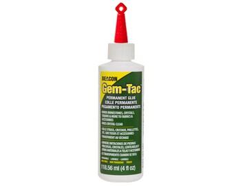 c0761db36026 Gem-Tac Glue - 4oz bottle - Made for fabric - Ideal for gluing rhinestones  onto fabric