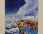 Aladdin's Magic Carpet painting