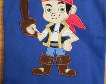 Jake and the Neverland Pirates Custom Disney Applique