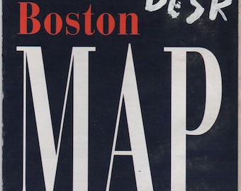 Massachusetts Subway Map.Boston Subway Map Etsy