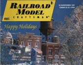 Railroad Model Craftsman Magazine, December 1997, illustrated, 129 pages, good shape, Winter Photo Diorama, Streetcar Line, Fort Collins