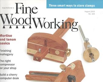 Taunton S Fine Woodworking Magazine April June August Etsy