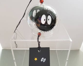 Wind Chime - soot sprite - handpainted