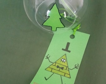 Wind Chime - Gravity Falls - handpainted