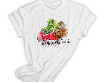 5b98487ad01e4 You're a mean one, Mr Grinch t shirt, Mr Grinch and Max t shirt, Christmas  Grinch shirt, Grinch t shirt