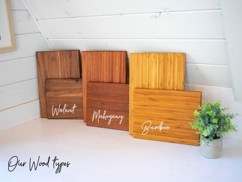 housewarming gift personalized wooden cutting board 066 Personalized Cutting Board Personalized gift Monogram Cutting Board