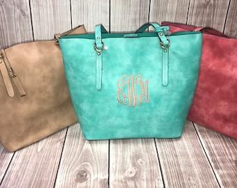 2 in 1 Handbag - Monogrammed Purse - 2in1 Purse - Handbag - Cross Body Bag - Shoulder Bag - Monogrammed Handbag - Personalized Gift