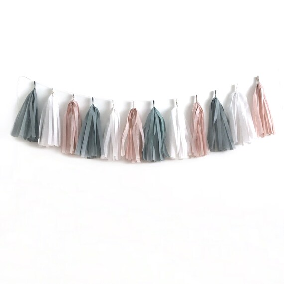 Diy Tassel Garland Bridal Shower Decoration Balloon Garland Bachelorette Decoration Balloon Tail Baby Shower Decoration Birthday