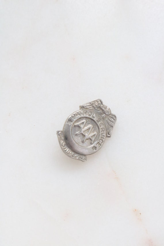 Vintage AAA Patrol Service Pin