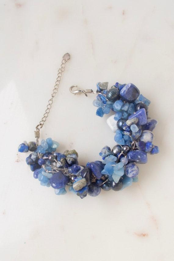 Sodalite Gemstones Bead Bracelet