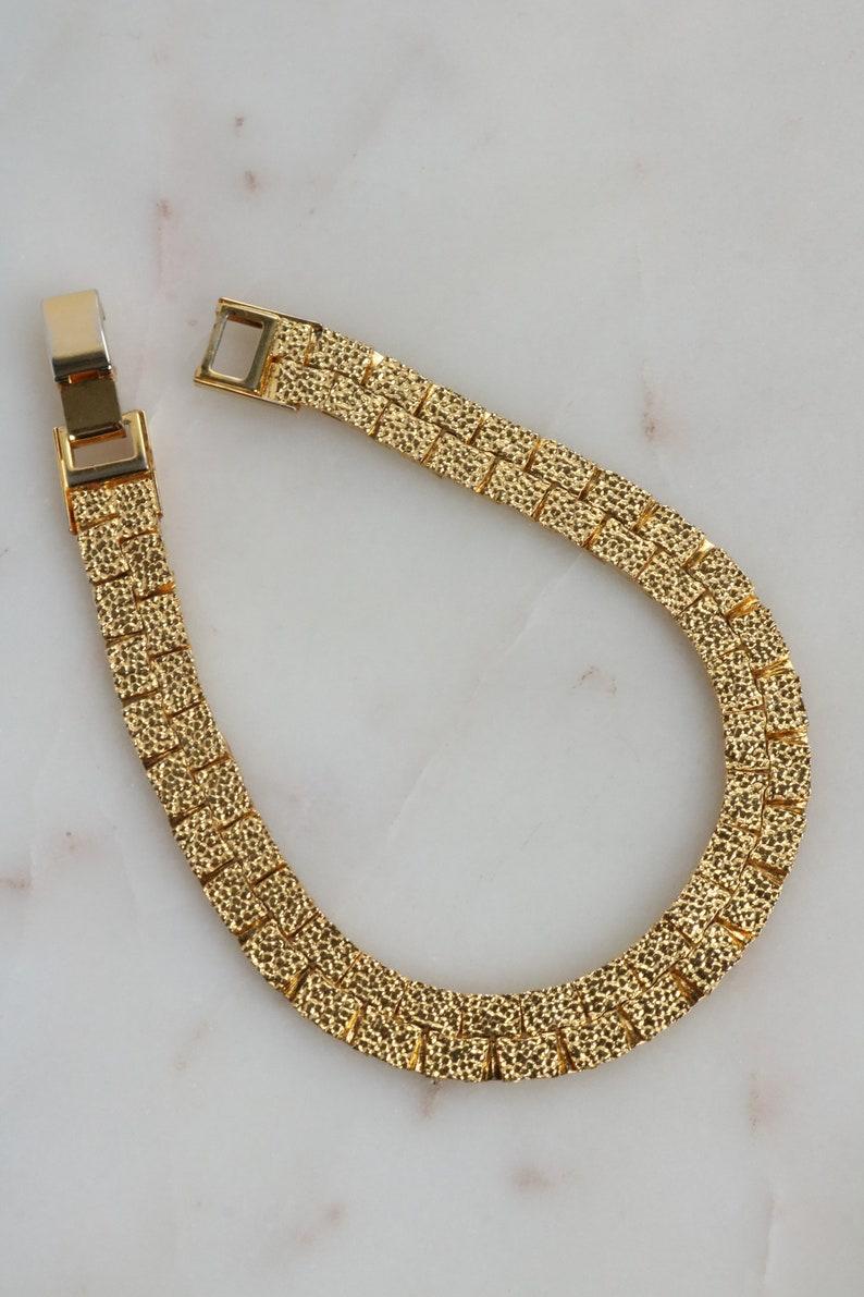 Vintage Gold Chain Bracelet