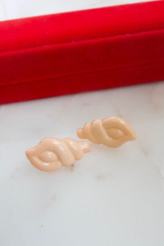 Vintage Shell Stud Earrings