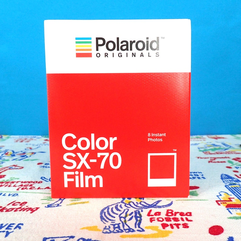 POLAROID sx-70 Color Instant Film fresh for your Polaroid image 0
