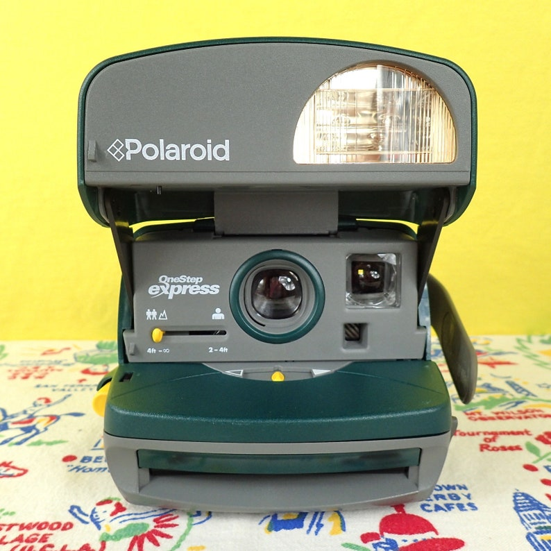 POLAROID ONESTEP EXPRESS 600 film tested and with Polaroid image 0