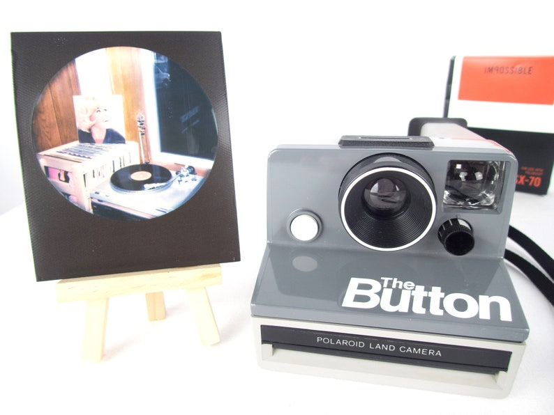 Polaroid The Button SX-70 film tested and with Polaroid film image 0