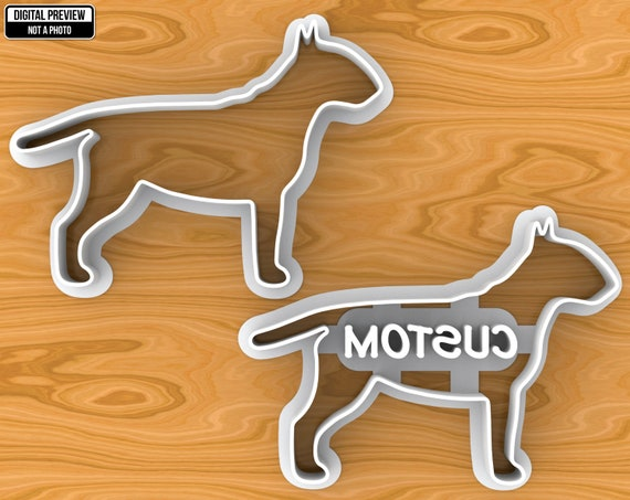 Selectable sizes English Cocker Spaniel Dog Cookie Cutter