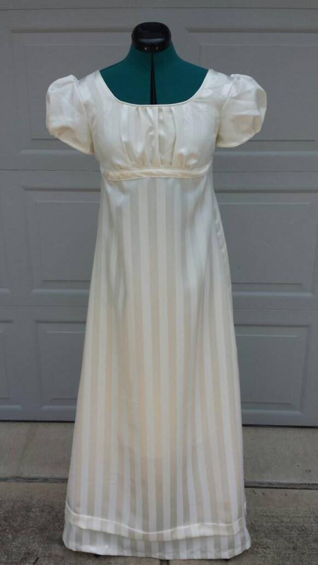 Elizabeth Bennet Ivory Regency Ball Gown Ladies Size | Etsy