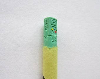 BMO Adventure Time Crayon Carving