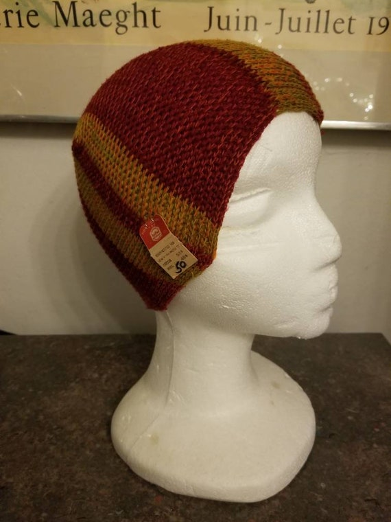 ANTIQUE FLAPPER SWIM Cap Wool Blend Original Old S