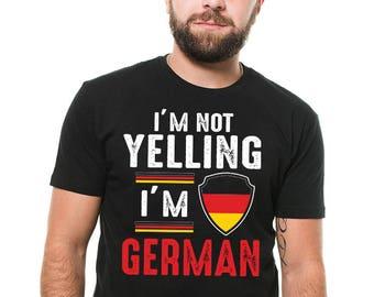 9f23900e27 German T-Shirt Gift For German Funny Germany Patriot Birthday Gift Ideas Tee  Shirt