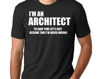 2bc02aeb Architect T-Shirt Gift For Architect Profession Occupation Tee Shirt