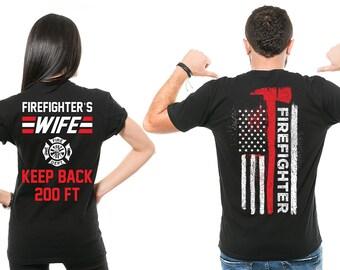 Dating a firefighter shirt