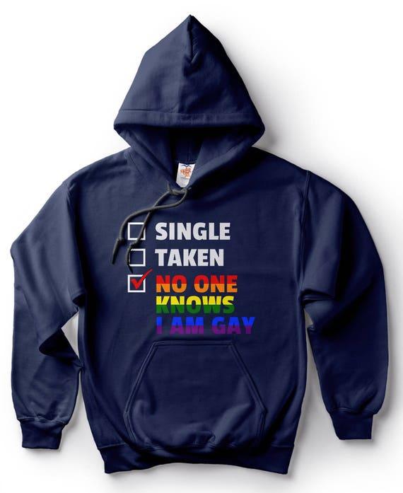 8b6433796 Drôle de Sweat à capuche gay LGBT Lesbiennes drapeau chandail à capuchon
