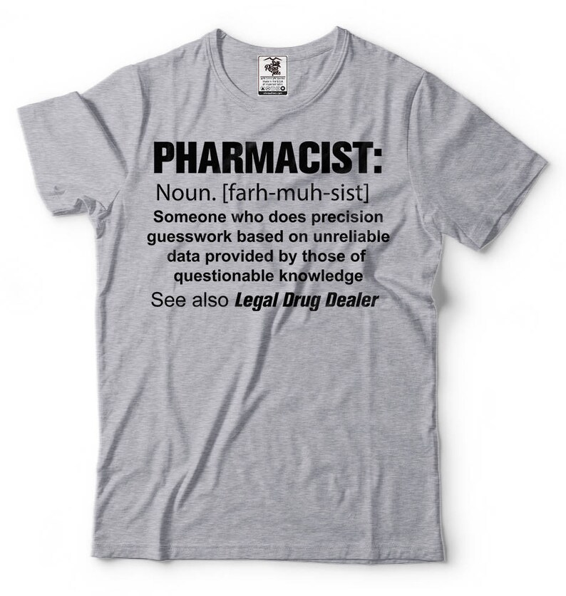 d4049eaf7 Pharmacist Legal Drug Dealer T-Shirt Funny Pharmacist Rx | Etsy