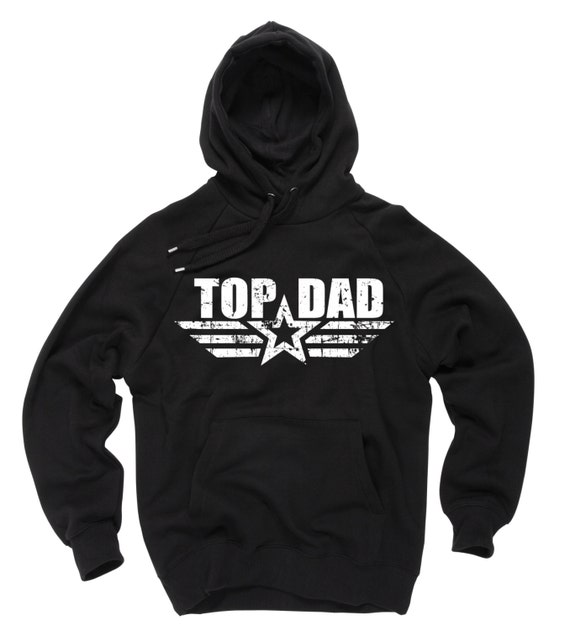 New Dad 2015 Rookie Dept Gift For Father Daddy Dad Hooded Sweatshirt
