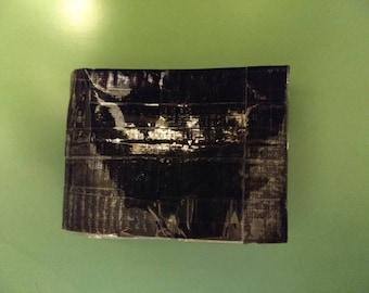Custom nonstick Duct Tape wallet
