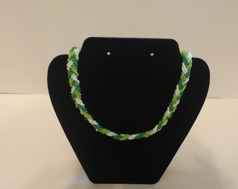 One Braided necklace