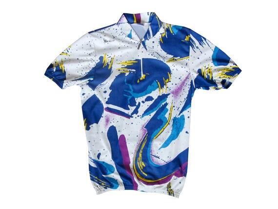 Santini All Over Print Cycling Shirt