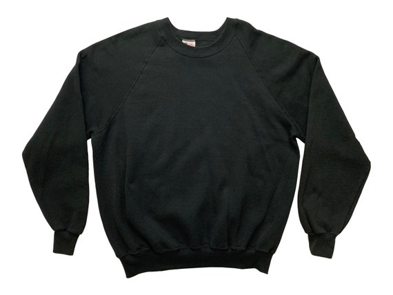Sturdy Sweats by Lee Blank Black Sweatshirt