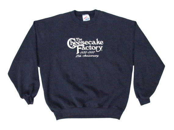 Cheesecake Factory 25th Ann Sweatshirt