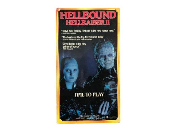 Hellraiser 2 Hellbound VHS