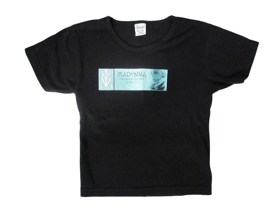 Madonna Drowned World Tour Black Womens T-Shirt